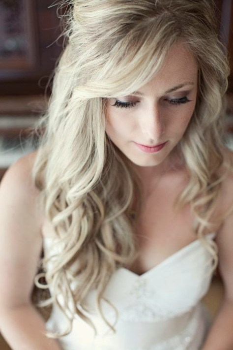 wedding hairstyles waves