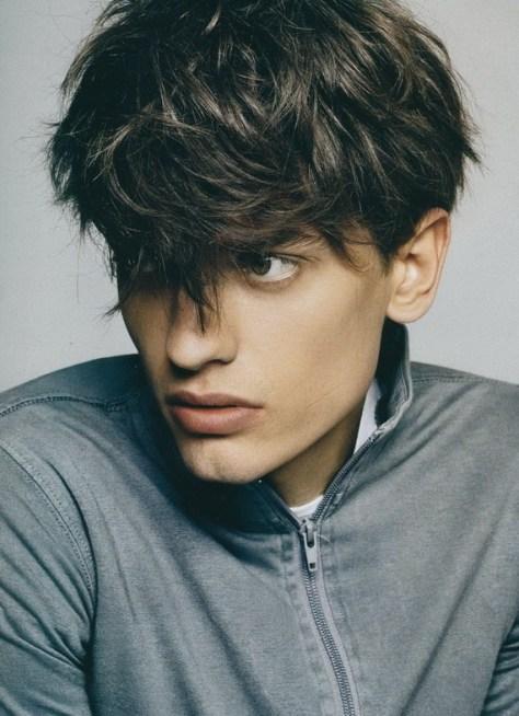 hairstyles for men bangs