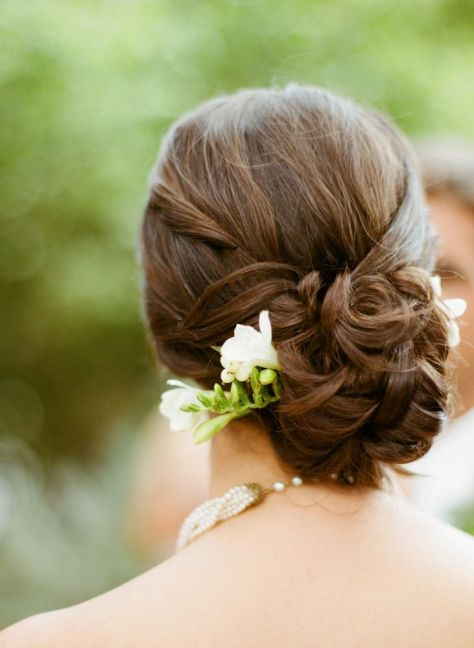 wedding hairstyles chignon
