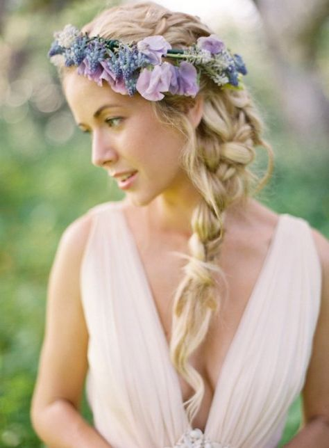 hippie wedding hairstyles