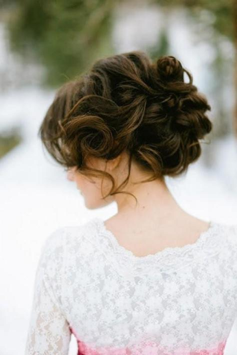 wedding hairstyles brown