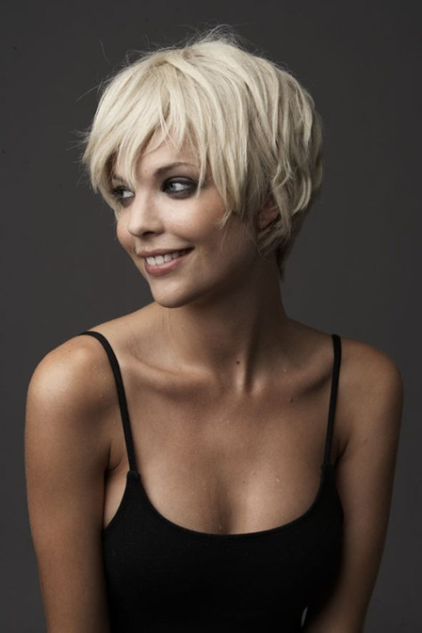 short hairstyles pixie