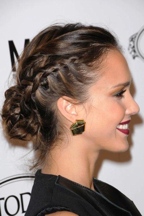 prom hairstyles bun