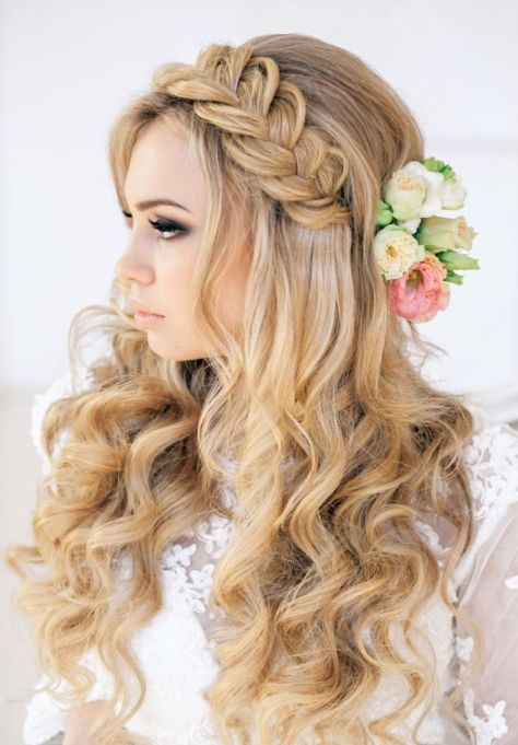 prom hairstyles blonde