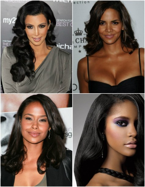 black hairstyles winter