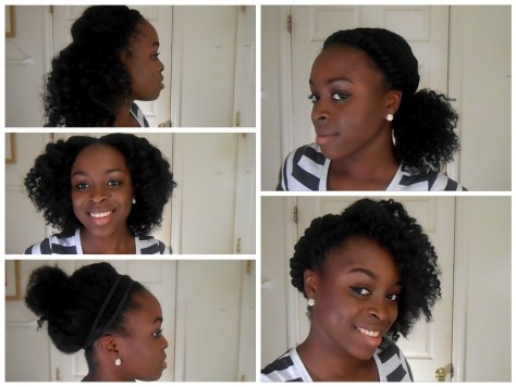 black hairstyles for school