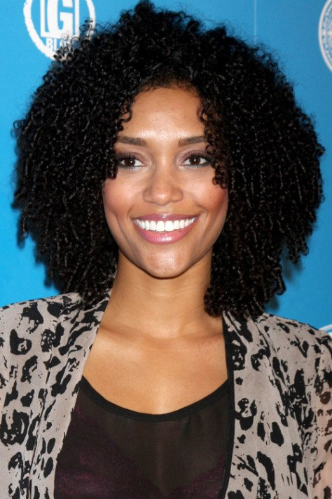 curly black hairstyles