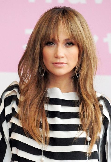 Wispy long hairstyle with lasting volume and motion