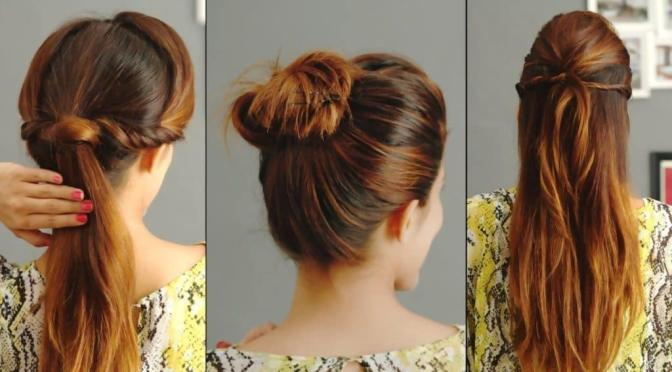 Easy hairstyles for college