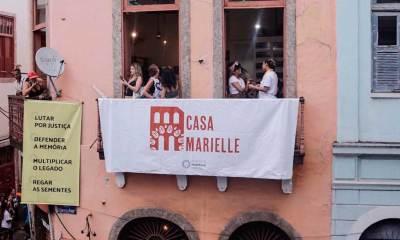 Inauguração Casa Marielle