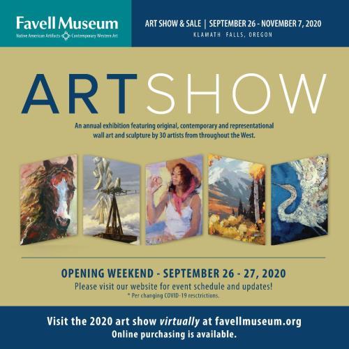2020 Art Show Flyer