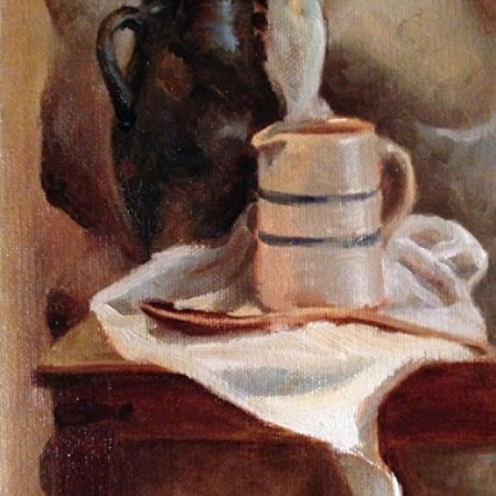 Amphora and Crock by Sheri Dinardi