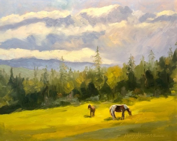 Evening Pastoral by Chuck Prudhomme