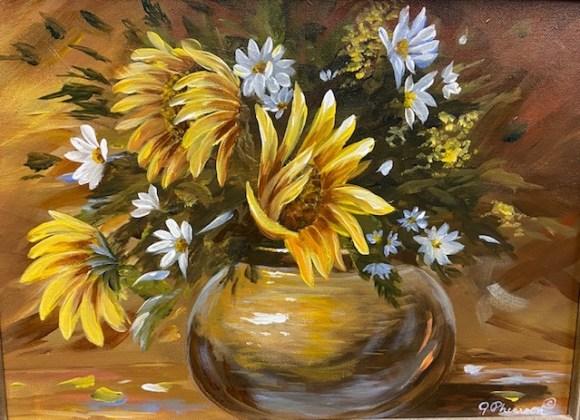 Fall Bouquet by Judy Phearson