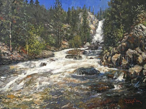 Fish Creek Falls by David Terry