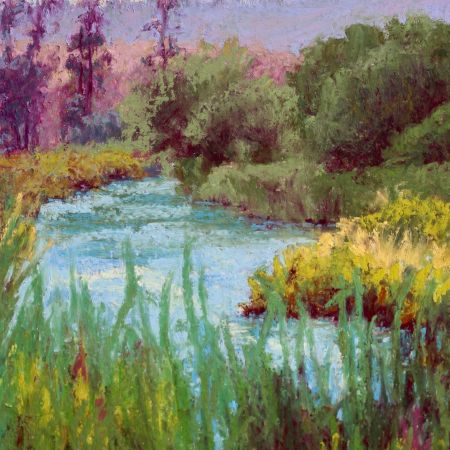 Fishing's Good, Middle Deschutes by Norma Holmes