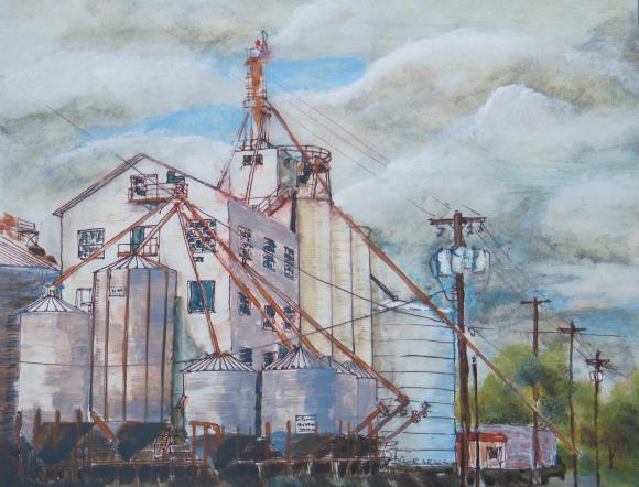 Grainery by Ron Raasch