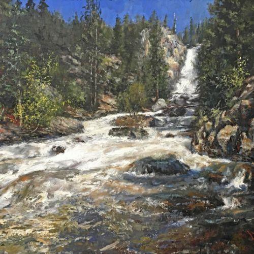 (Grid) Fish Creek Falls by David Terry