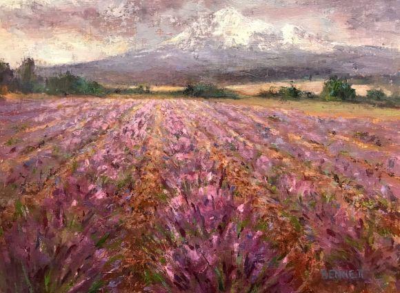Lavender Rain by Sue Bennett