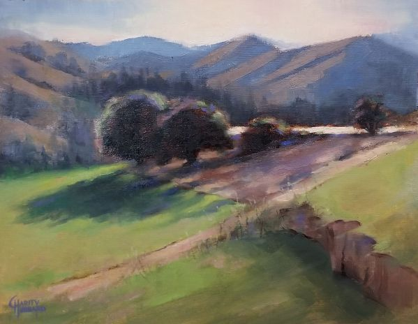 Light and Shadows in Lake Creek by Charity Hubbard