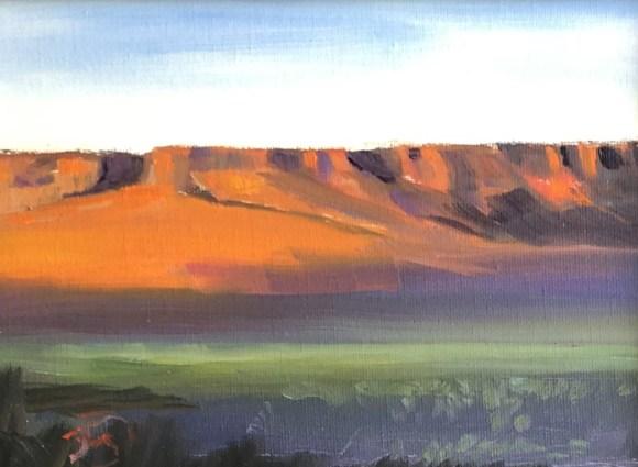 Red Bluff by Janice Druian