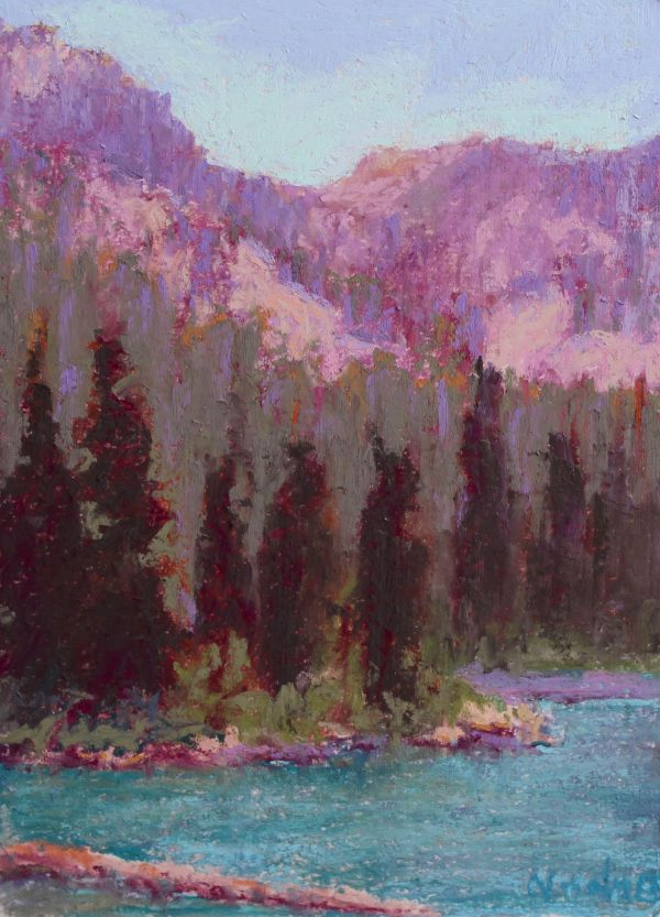 Strawberry Lake by Norma Holmes
