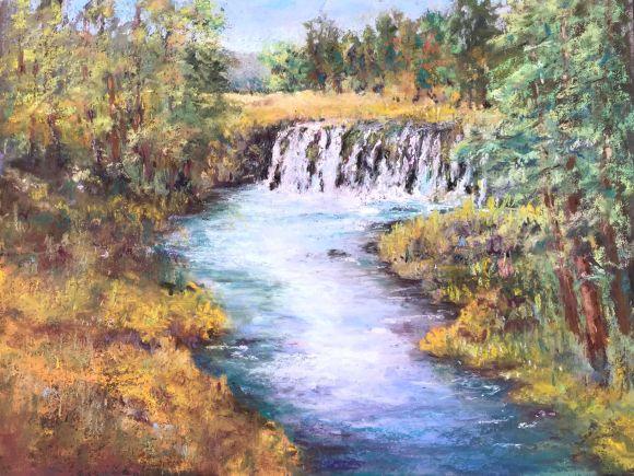 Upper Rogue Falls by Steve Bennett
