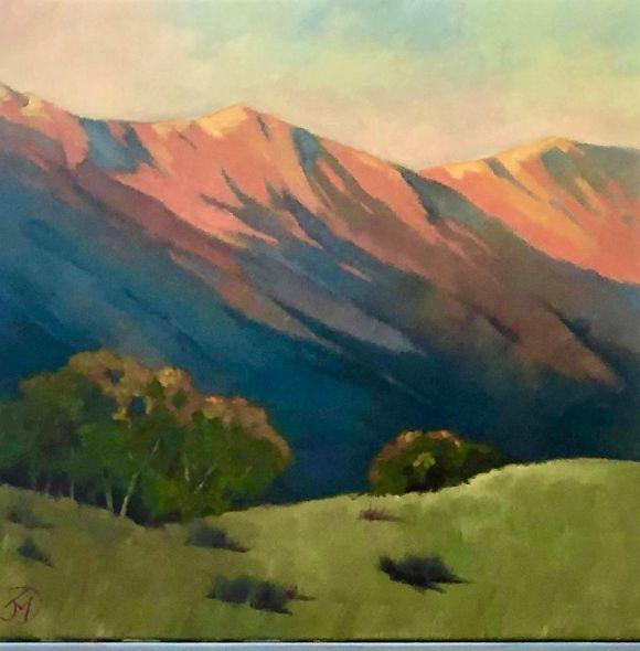 Vermillion Peaks by Janice Druian