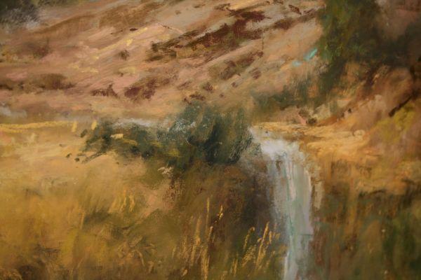 (Close-up) Desert Gold by Willo Balfrey