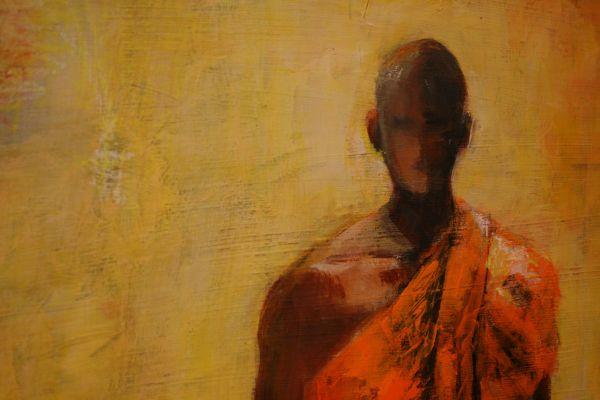 (Close-up) Man of Peace by Barbara Enochian