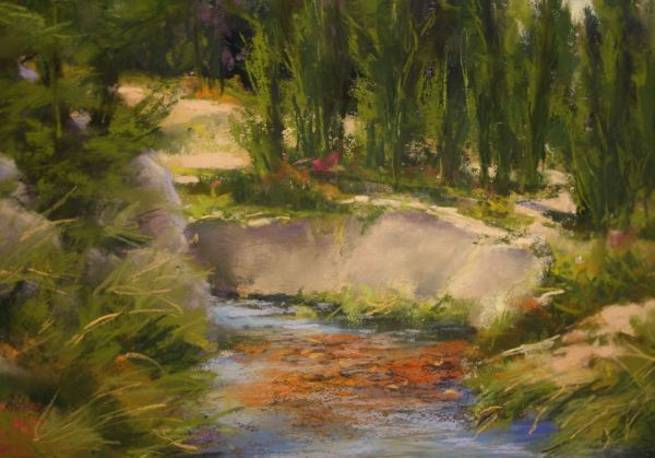 (Close-up) Shallow Water by Bonnie Griffith