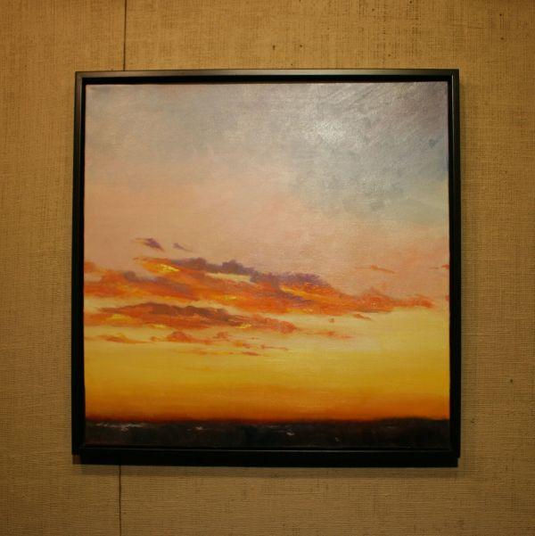 (Frame) Joyous Sunrise by Janice Druian