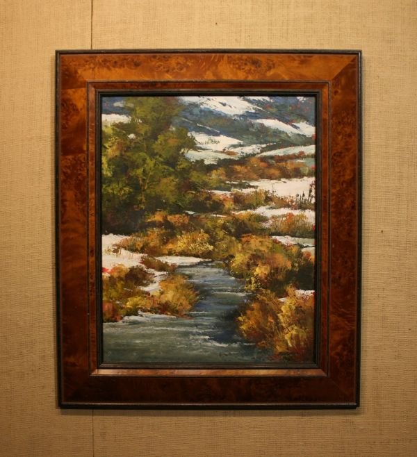 (Frame) March Willows by Bonnie Griffith