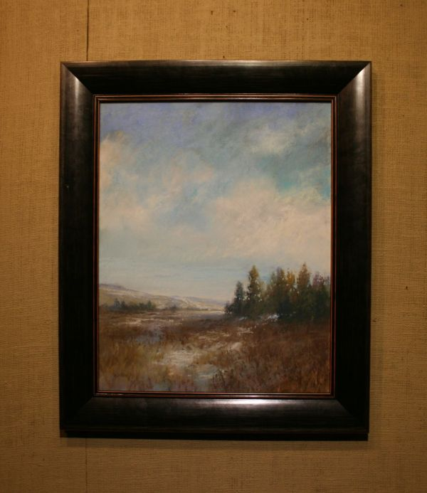 (Frame) Sky Blue - Winter Cold by Willo Balfrey