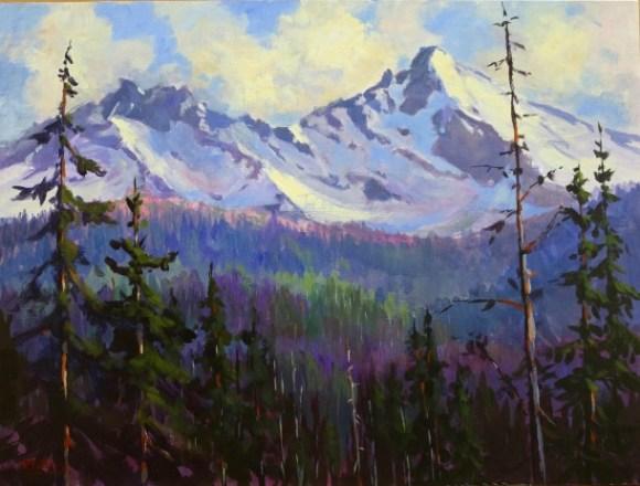 Broken Top Ahead by Randall Tillery