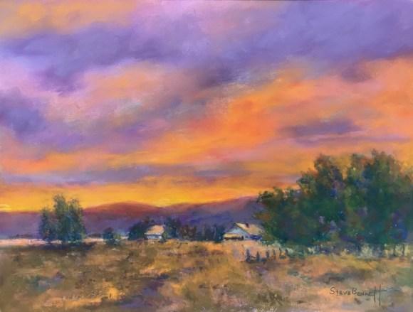 Evening Colors by Steve Bennett