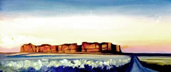 Fort Rock by Janice Druian