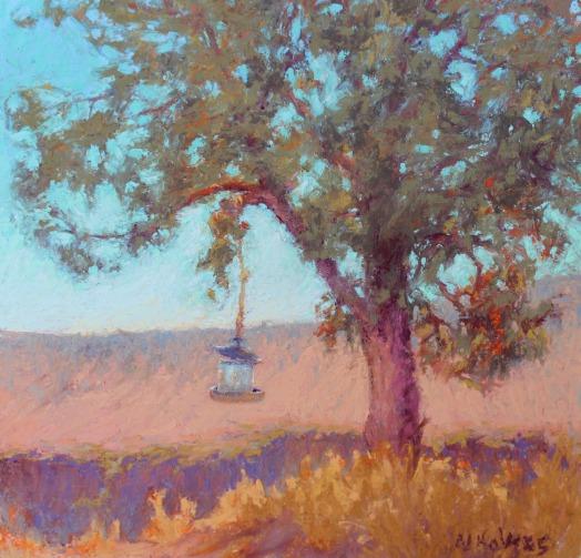 Sunday Morning, Rimrock Range by Norma Holmes