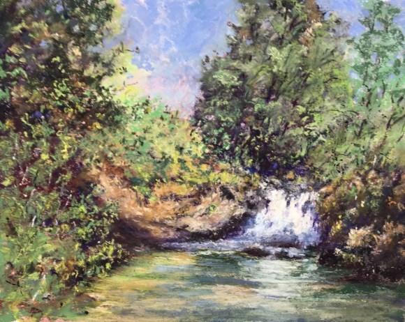 Sweet Creek Falls by Steve Bennett