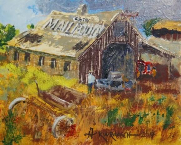 Barn I by Ron Raasch
