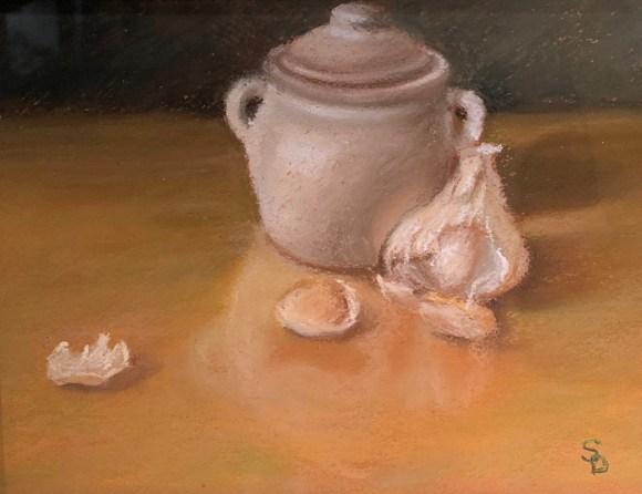 Garlic Keeper by Sheri Dinardi