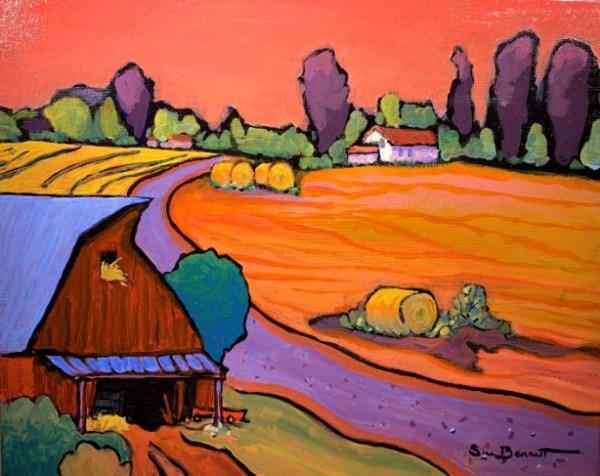 On the Farm by Sue Bennett