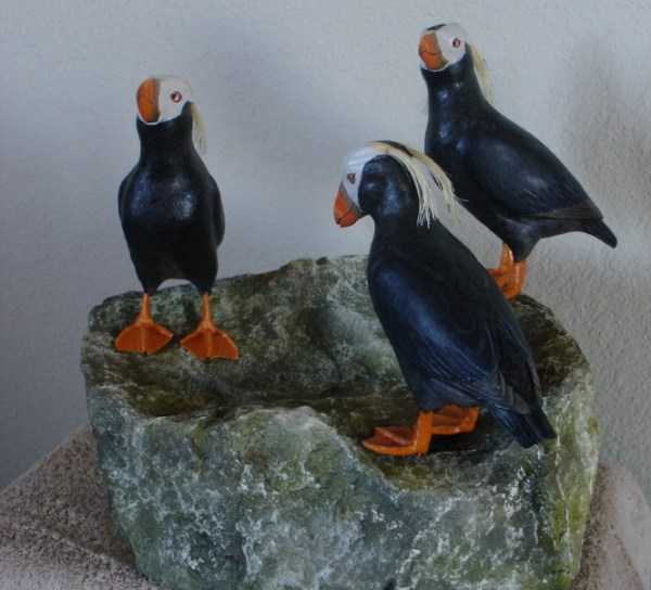 Puffin Party by Mark Holland and Cindy Lewis