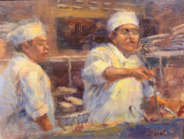 Cooks in the Kitchen by Karen Leoni
