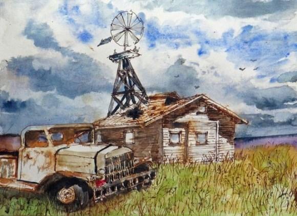 Wind Power by Ron Raasch