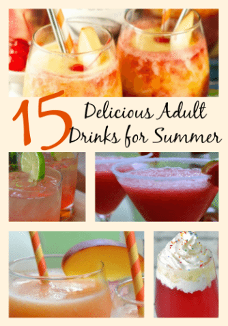Delicious Adult Drinks
