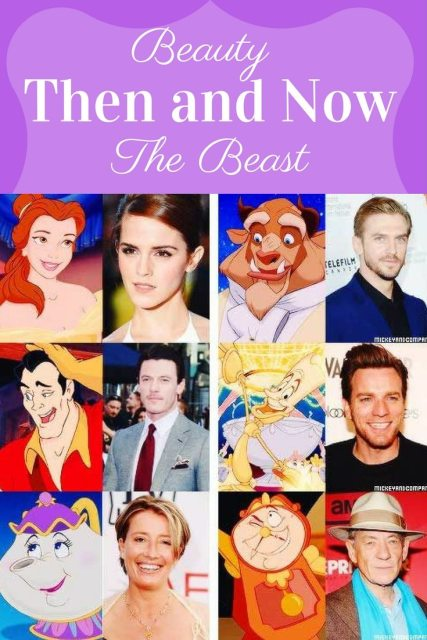 Beauty and The Beast Then and Now: A look at the movie and some changes from the original | FaVe Mom #DisneySMMC