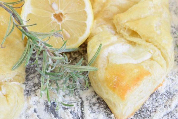 Recipe for Cream Cheese Danish using puff pastry