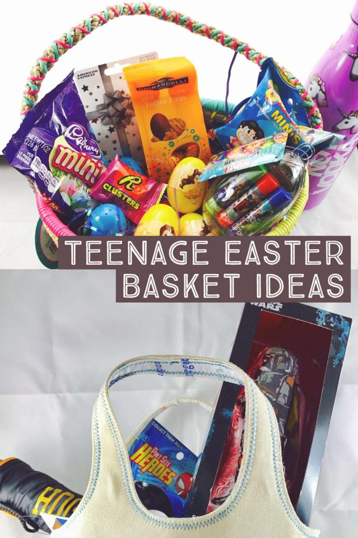 Last Minute ideas for your teens easter basket cause the kiddy eggs aren't gonna cut it.