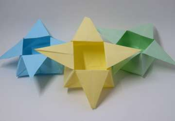 Traditional Star Box Origami